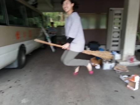 五頭今板温泉 湯本舘の若女将 魔女の宅急便にキキになる!!