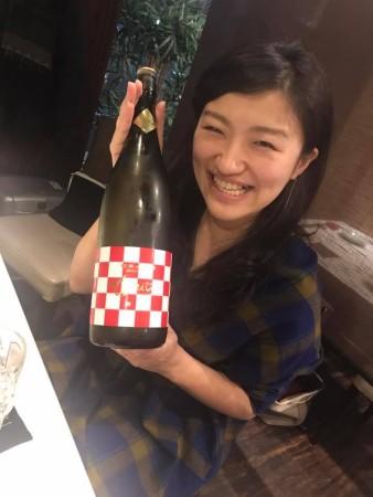 風花会会長から振舞い酒