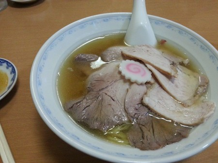 三吉屋さんのあっさり醤油ラーメン