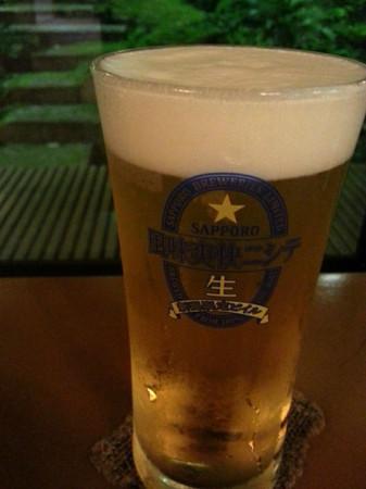 新潟限定ビイル 風味爽快ニシテ サッポロからでた美味しい生ビール