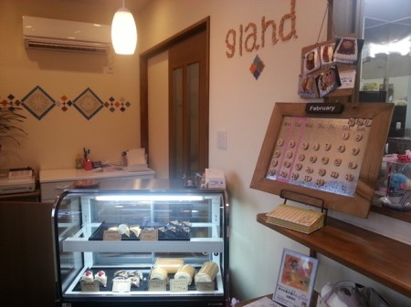 五頭温泉郷 新しくオープン 小さな森のお菓子屋さん gland グラン