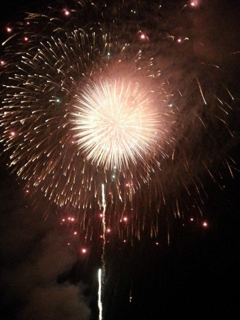 新潟県阿賀野市水原祭り花火大会
