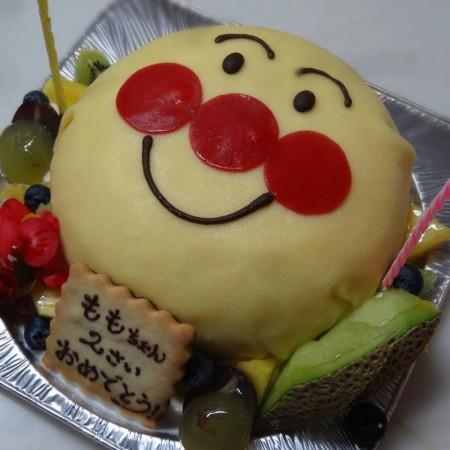 あんぱんまんケーキ