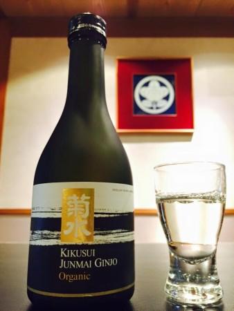菊水純米吟醸有機栽培コシヒカリ使用オーガニック酒