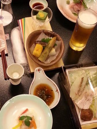 新潟 温泉旅館 五頭今板温泉 湯本舘 今月の5月料理