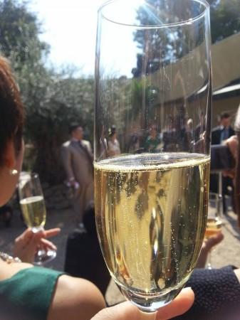 小笠原伯爵邸のシャンパン