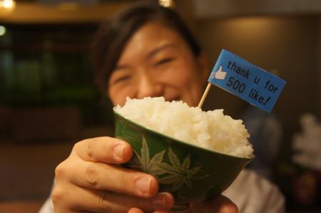 2013年新潟産コシヒカリ、今板産の新米 平成25年9月23日