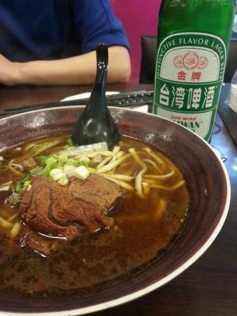 台湾名物 牛肉麺を試してみました♪