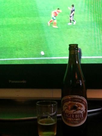 サッカー日本代表には、やはりキリンビール